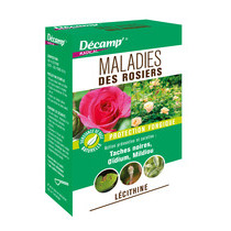 Maladies rosiers - Lécithine - Décamp