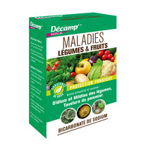 Maladies légumes et fruits - Bicarbonate de sodium - Décamp